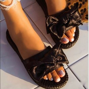 New weaves sandals